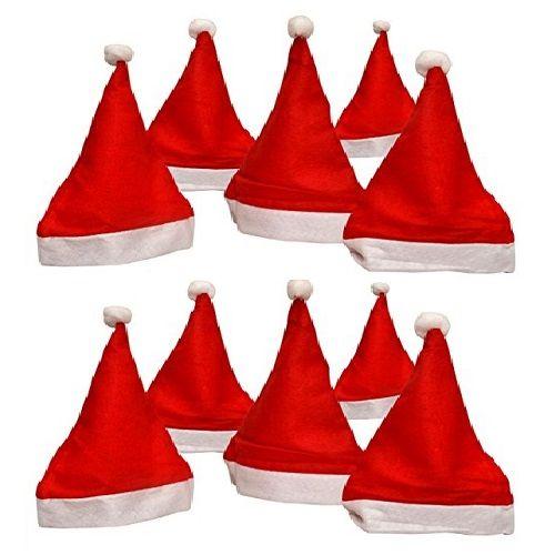 Vidya Decorations Christmas Special - Santa Cap, 12 pcs