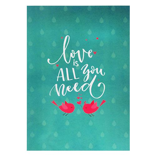 Valentine's Day Special, Camp Expression Of Love - Greeting Card, 1 pc