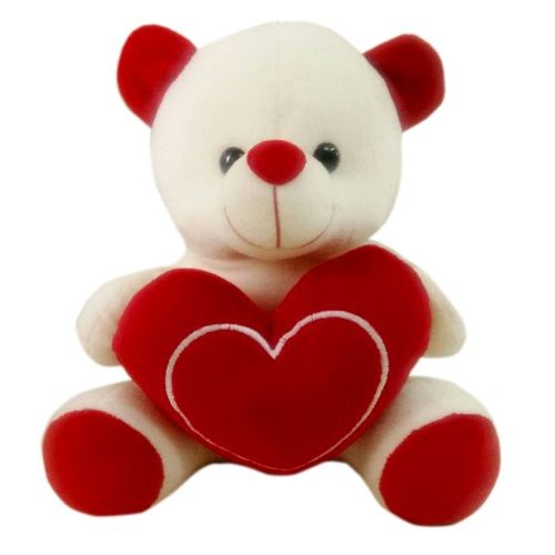 Teddy's Day Special, Blooms & Bouquets Cute Love Teddy, 1 pc
