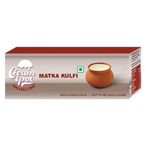 Cream Pot Kulfi - Dry Fruit Matka, 400 ml Pack of 2