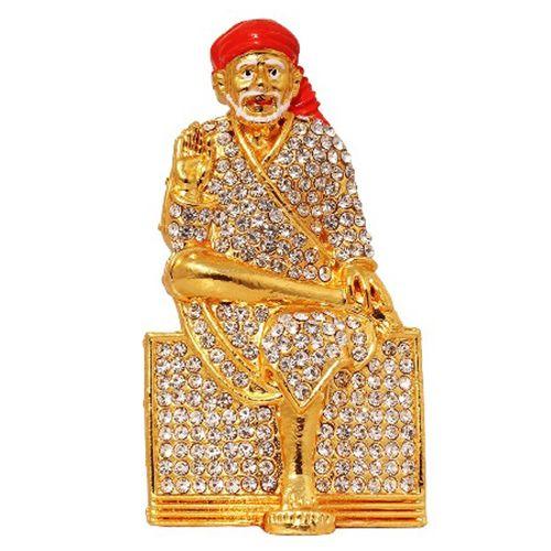 Art N Hub Gift Gallery God Statue Gift Item - Lord Shirdi Shri Sai Baba /  Sai Nath, Home Decor, 1 pc