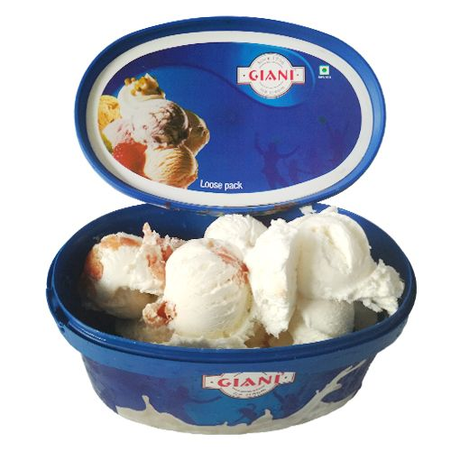 Giani Indirapuram Ice Cream - Litchi, 1 L