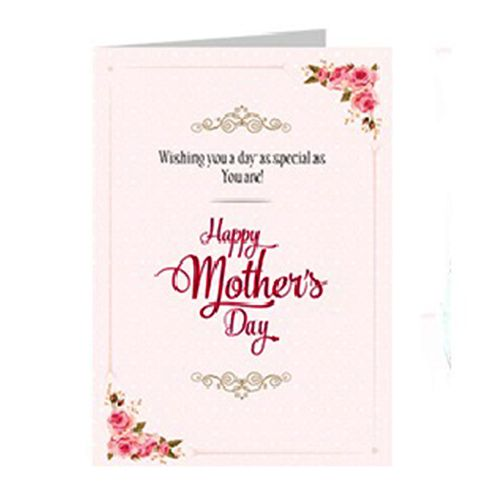 Mother's Day Special 10 Pink Roses Bouquet, Nic Tender Coconut Ice Cream & Greeting Card- Combo, 3 items