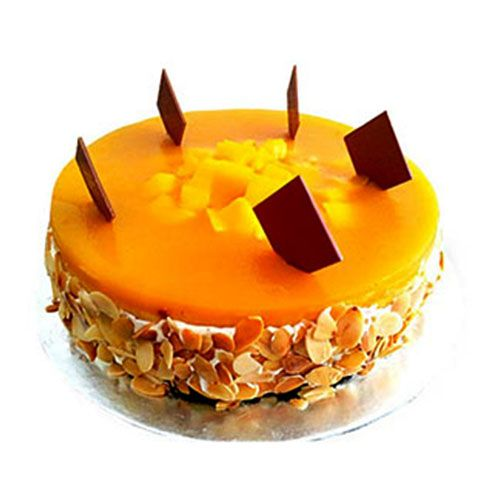 Mother's Day Special Fresh Cake - Mango, 500 g