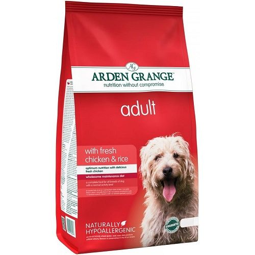 Arden Grange Dog Food - Adult Dog Chicken & Rice, 2 kg