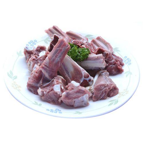 Lion Fresh Mutton - Curry Cut, Halal Cut, 500 g