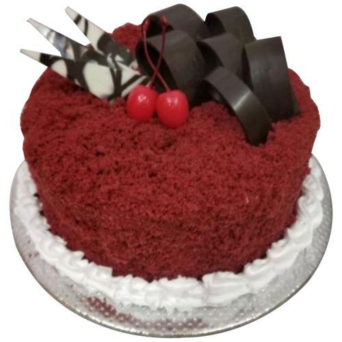Bakers home Fresh Cake - Red Velvet Cream Cheese, Eggless, 1 Kg
