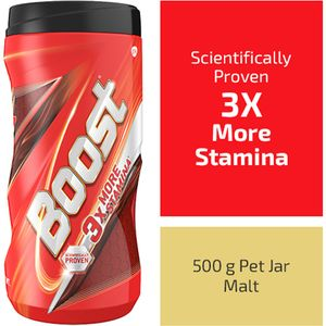 Buy Boost Nutrition Drink Health Energy Sports 500 Gm Jar Online At