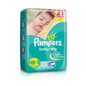 Baby Dry Diapers - Small
