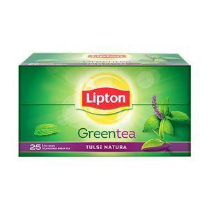 Lipton Green Tea - Tulsi Natura, 2x25 pcs Multipack