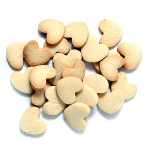 Cookie Czar Mini Hearts Cookies - Crisp Whole Wheat Shortbread, Eggless,  175 g
