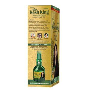 Kesh King Medicinal Oil - Ayurvedic, Scalp & Hair Medicine, 100 ml