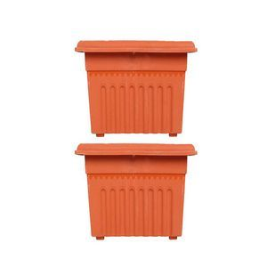 Buy Trust Basket 2 Square Uv Treatedheavy Duty Plastic Planter 12