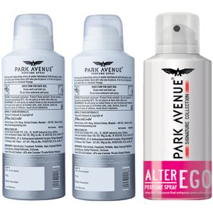 Park avenue Signature Deo - 2 Voyage + Alter Ego Free, 300 gm Buy 2 Get 1  Free
