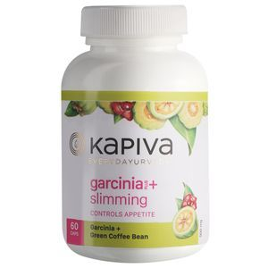 Kapiva Ayurveda Garcinia+ Slimming Capsules - Aids Weight Loss, 60 pcs