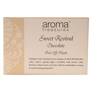 Aroma Treasures Sweet Revival Chocolate Peel-Off Mask, 30 g Pack Of 3