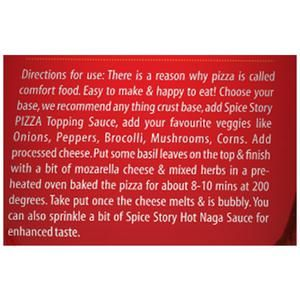 Buy Spice Story Pizza Sauce Online At Best Price Bigbasket
