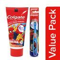 Colgate Kids Toothpaste - 6+ Years, Bubble Fruit Flavour, Spiderman, With Toothbrush