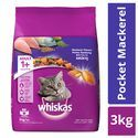 Whiskas Cat Food - Dry, Mackerel Flavour, For Adult, +1 Year