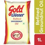 Gold Winner Refined Groundnut - Oil 1 L Pouch