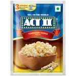 ACT II Instant Popcorn - Tandoori Tadka 70 g Pouch