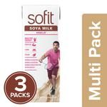 Sofit  Soya Milk - Vanilla 3x200 ml Multipack
