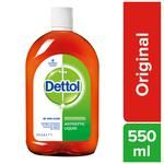 Dettol Antiseptic Disinfectant Liquid 550 ml