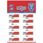 Nippo Battery AA 3UT Hi Top 10 pcs