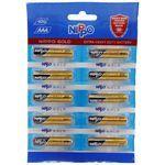 Nippo Battery AAA Gold 15V 4DG 10 pcs