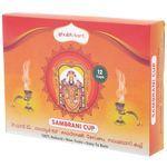 Shubhkart Sambrani Cups, 60 g 12 cups