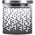 Cello Borosilicate Glass Jar with Steel Lid – D'ziner Steelox, Triangle, 700 ml