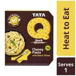 TATA Q Heat To Eat - Cheesy Pasta With Black Olives 290 g
