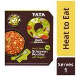 TATA Q Heat To Eat - Hot & Spicy Schezwan Noodles With Veggies 290 g