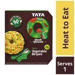 TATA Q Heat To Eat - Spicy Vegetable Biryani 330 g