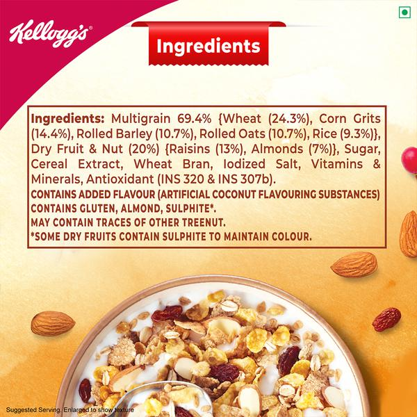 Kelloggs Muesli With 20 Nuts Delight Pouch 240 G Customer Reviews Ratings Page 2 Bigbasket