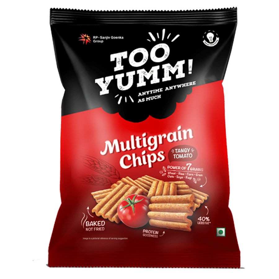 Too Yumm! Multigrain Chips - Tangy Tomato, 54 g