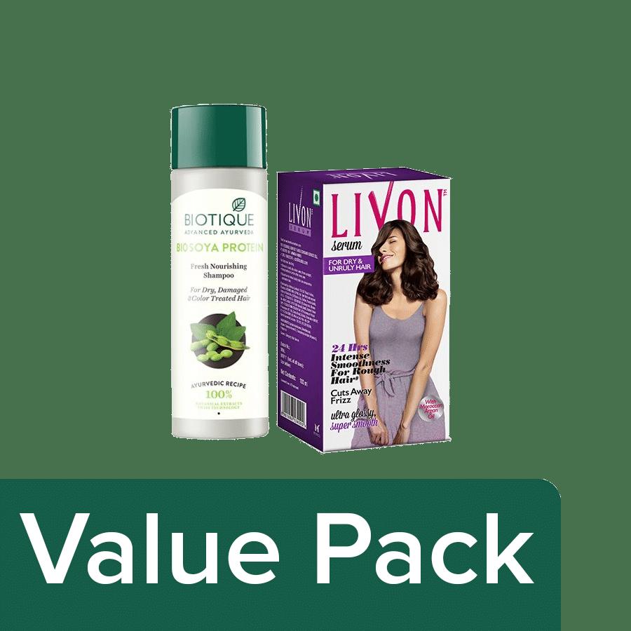Treatment Shampoo+Livon Dry & Unruly