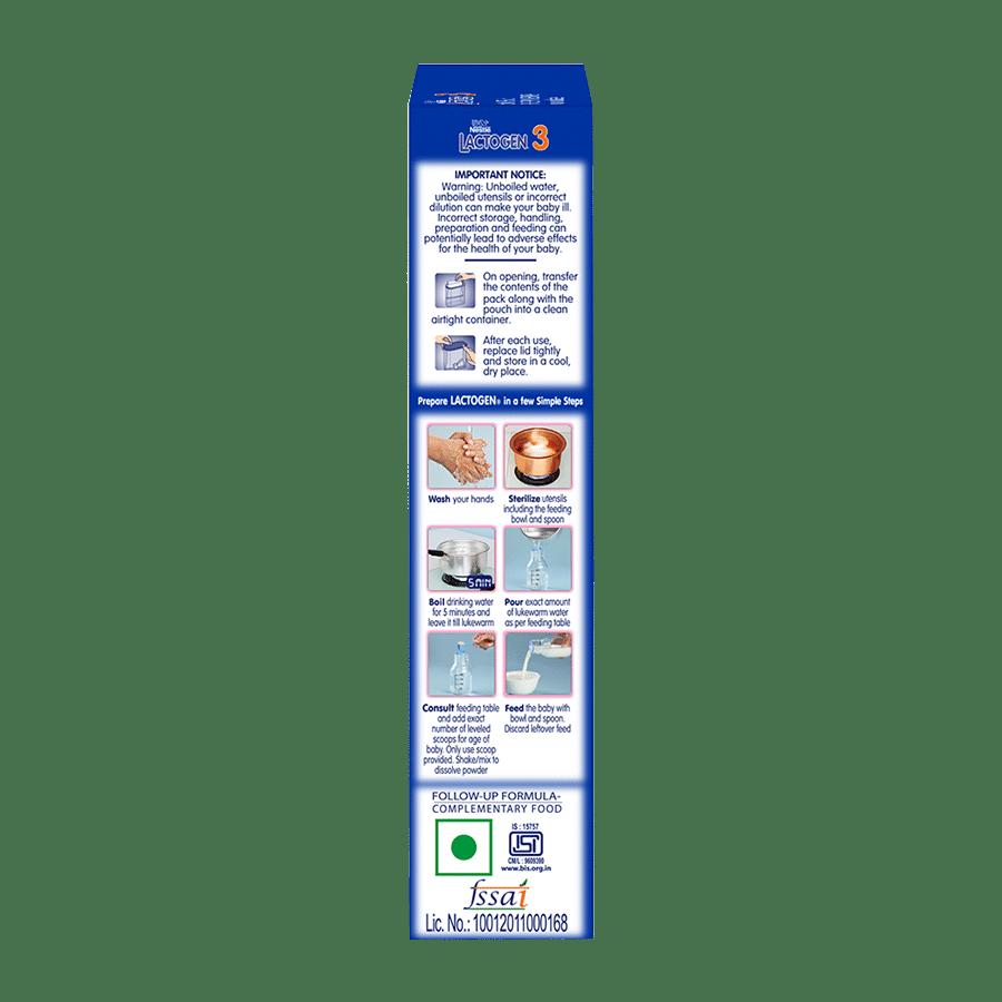 Nestle Lactogen - Follow Up Formula (Stage 3), 2x400 g Multipack