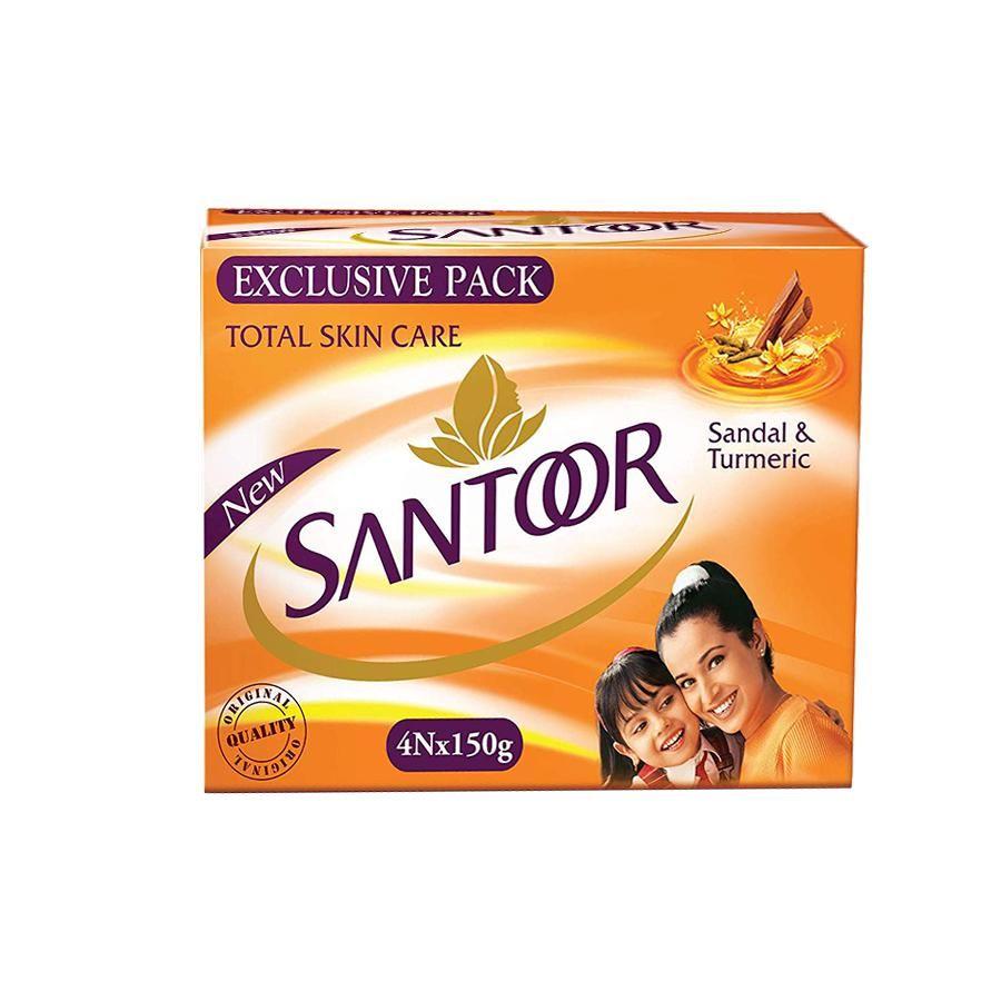 Santoor Bathing Soap Sandal Turmeric