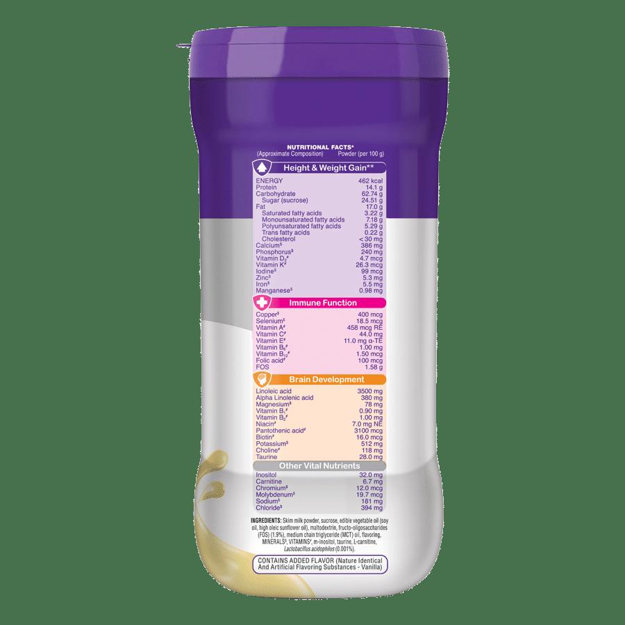 Pediasure Nutritional Powder - Vanilla Delight, 200 g Jar