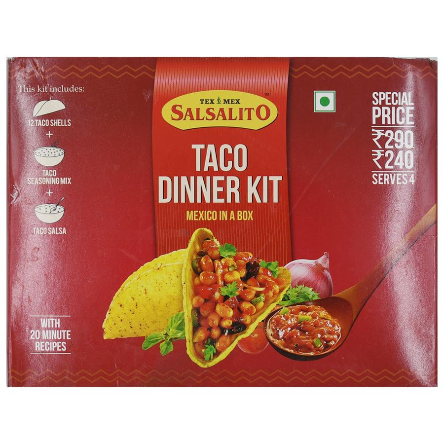 Buy Tex Mex Salsalito Dinner Kit Taco 300 Gm Carton Online At The Best Price Bigbasket
