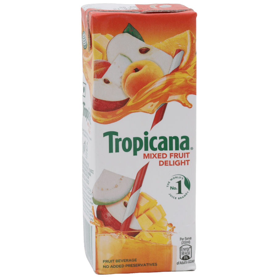 Tropicana Fruit Juice - Delight, Mixed Fruit, 1 L