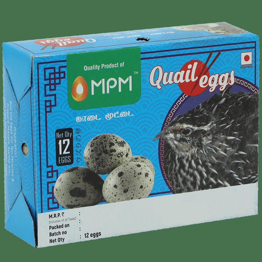 Mpm Quail Eggs, 12 pcs