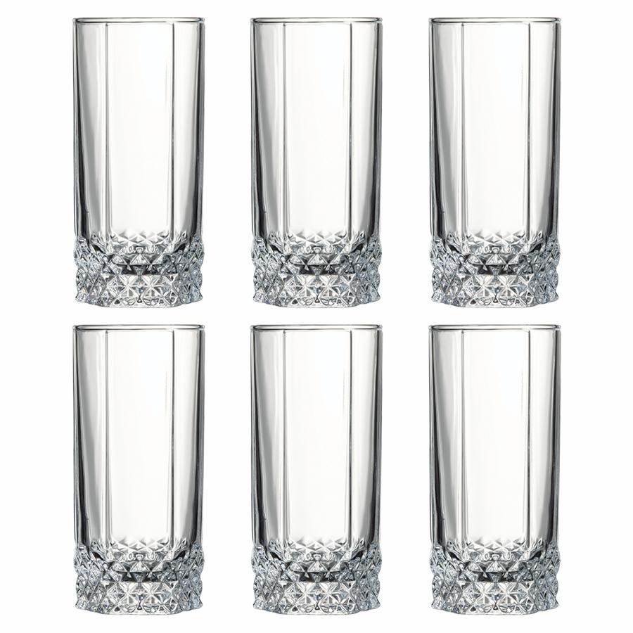 Pasabahce Water and Juice Glass 290 ml Set of 3 Turquoise Blue