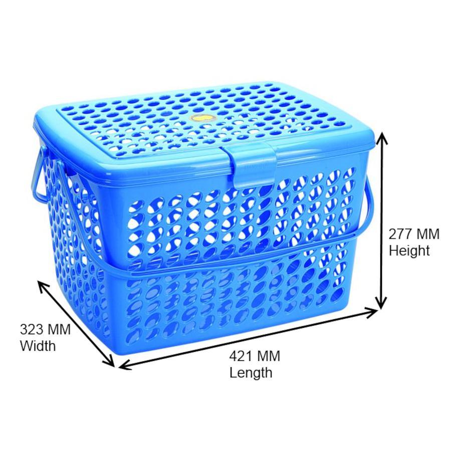 Buy Nakoda Excel Picnic Basket Big 1 Pc Online At Best Price Bigbasket