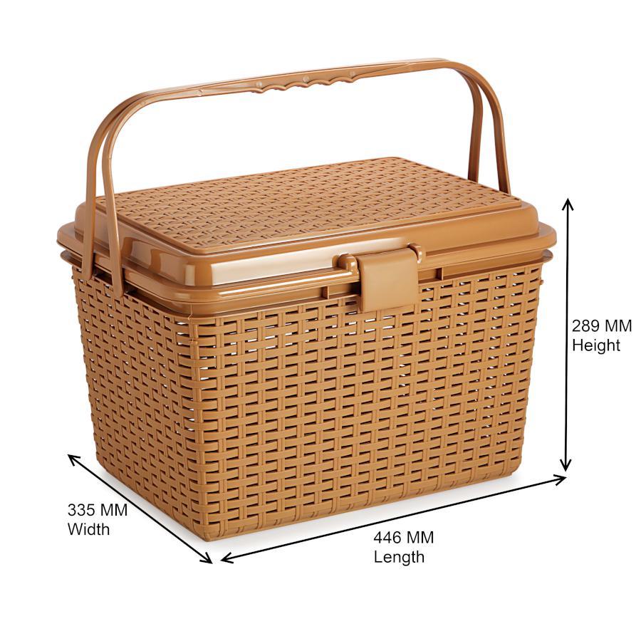Buy Nakoda Royal Plastic Basket Big Online At Best Price Bigbasket