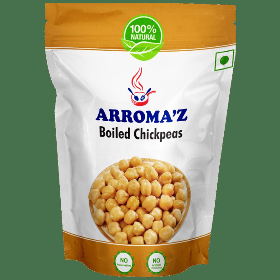 ARROMA'Z Chickpeas - Boiled, 200 g