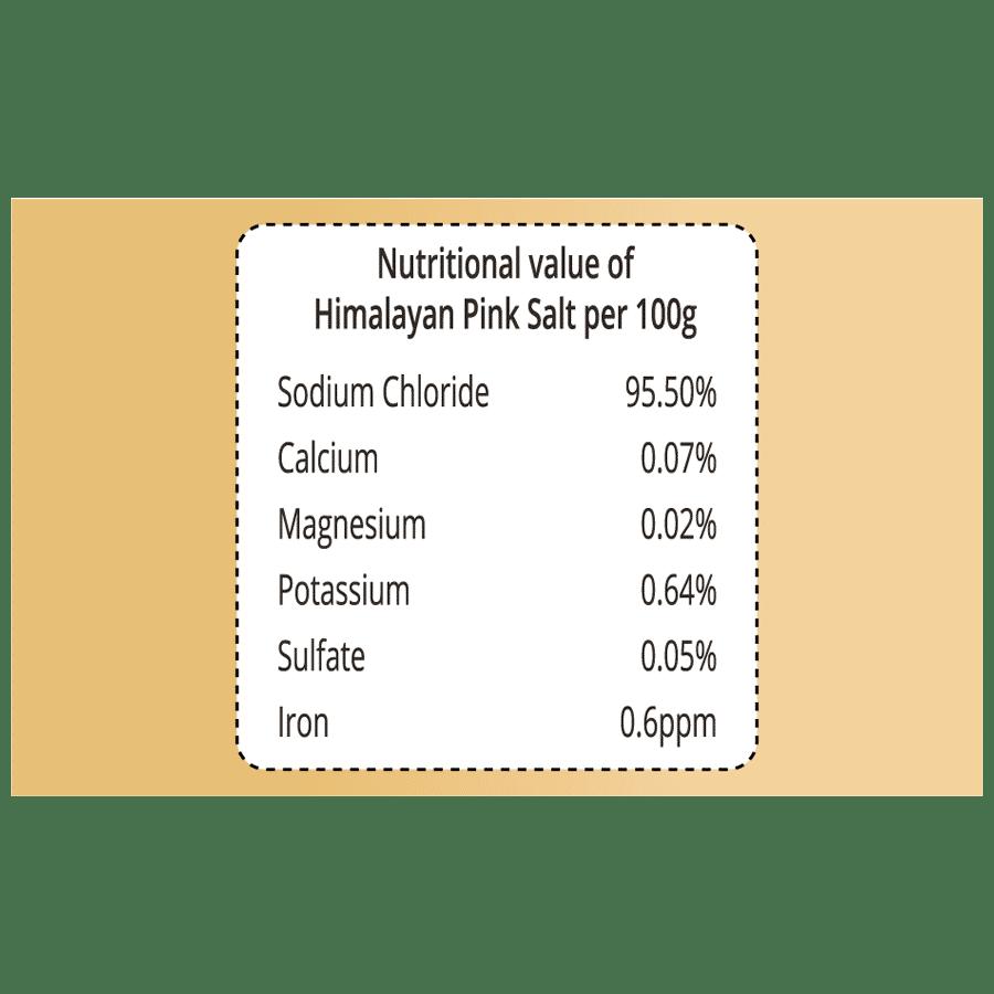 Pro Nature Himalayan Pink Salt - Crystals, 500 g