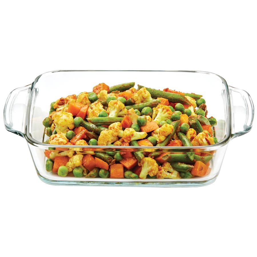 Borosil Square Dish With Handle