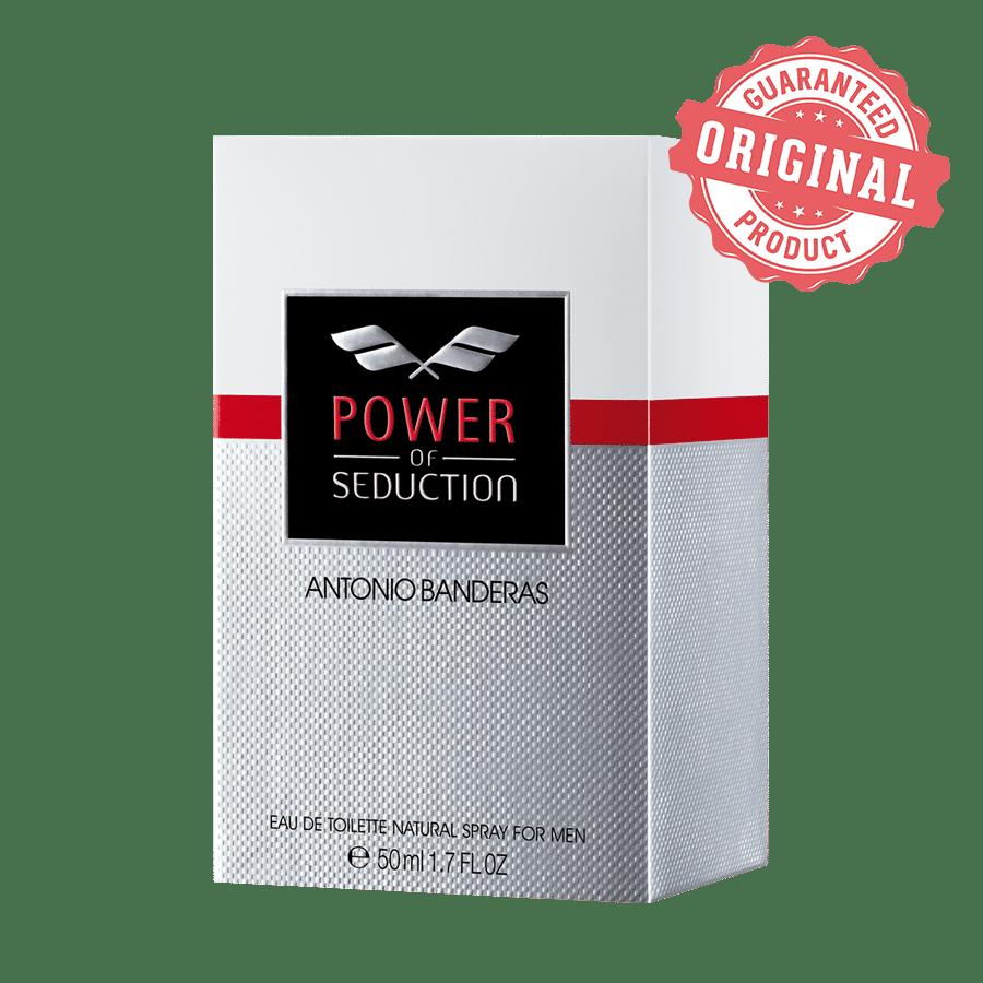 Buy Antonio Banderas Power Of Seduction Eau De Toilette Online At